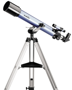 The refracting telescope.